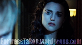 Katie McGrath as Morgana.  She has a lovely jaw.