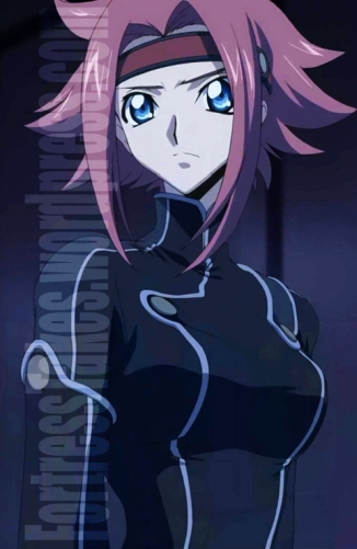Kallen from Code Geass was the firey template.