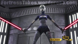 Clone Wars' Ventress is not our cup of tea here in the Fortress, but we know she has a following amongst those who go for the extremely bad girls.