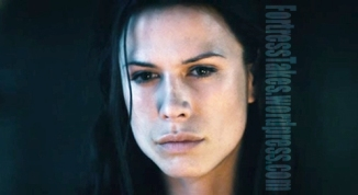 While we could take or leave Rise of the Lycans, Rhona Mitra left an impression.