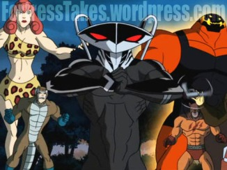 Black Manta!?  He is one of our favorite minor villains, but one of the last we expected to see.