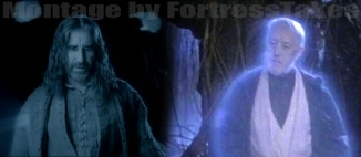 "The Obi-Wan? We'll start with the reappearance of Merlin's dragonlord father. ""May the (magic) Source be with you."""
